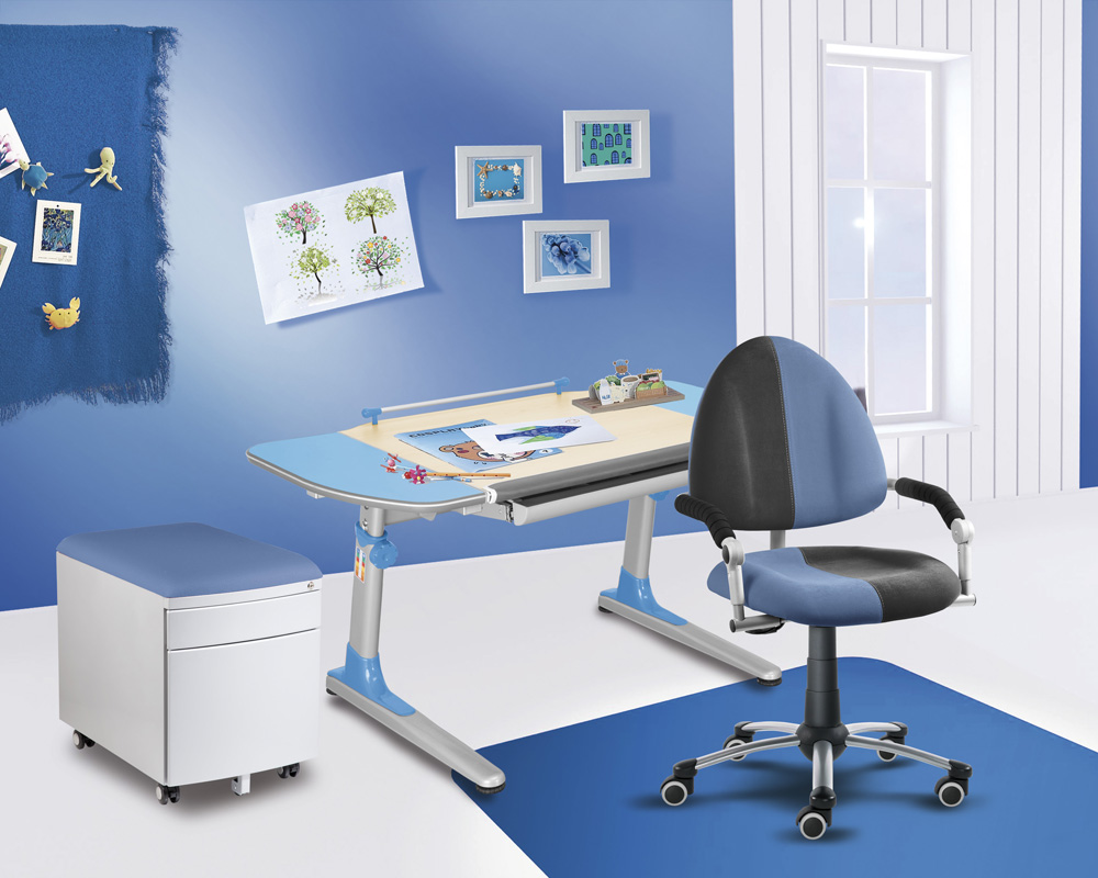 Rostoucí stůl Young College Profi modrý