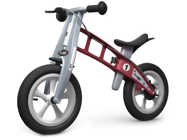 FirstBike STREET Red s brzdou