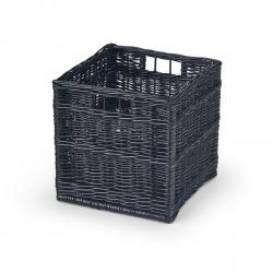 Halmar Úložný box WOODY čierna