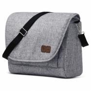 ABC Design Taška na plienky Easy graphite grey 2020