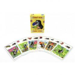Čierny Peter Krtko a sýkorka spoločenská hra - karty v papierovej krabičke 6x9cm