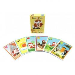 Černý Petr Štěňátko spoločenská hra - karty v papierovej krabičke