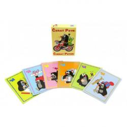 Čierny Peter Krtko spoločenská hra - karty v krabičke 6x9cm