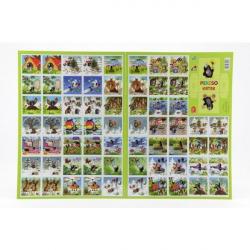 Pexeso Krtek papierové spoločenská hra 32 obrázkových dvojíc 22x30cm