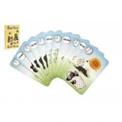 Čierny Peter Krtko 4- spoločenská hra - karty v papierovej krabičke 6x9cm