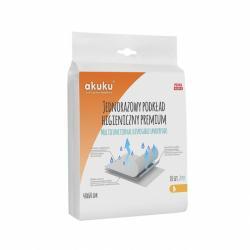 Jednorázové hygienické podložky Akuku PREMIUM 40x60cm 10 ks