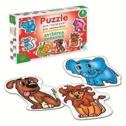 Puzzle pre najmenších - Zvieratká