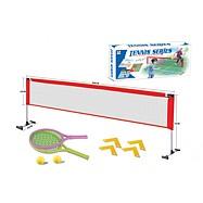 Sieť s dvoma pálkami na soft tenis