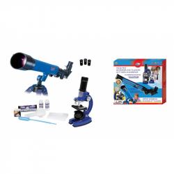 Mikroskop a teleskop