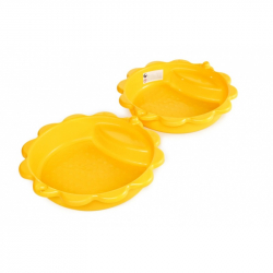 Pískoviště slunečnice žluté s víkem