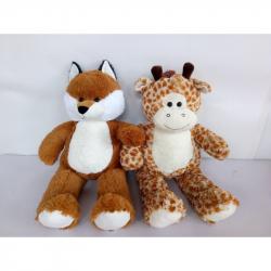 Zvířata plyšová (žirafa) 80cm