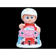 Panenka Baniel v autíčku