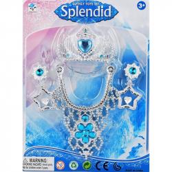 Šperky sada s malou korunkou jako Frozen