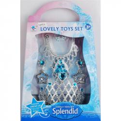 Šperky sada pre princeznú ako Frozen
