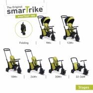 Tříkolka Smart Trike 7 v 1 Smartfold 500 zelená