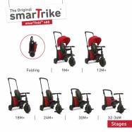 Trojkolka Smart Trike 7 v 1 Smartfold 500 červená