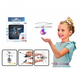 Vrtulníková koule s LED krystal