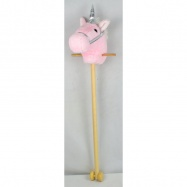 Jednorožcova hlava na tyči 100 cm