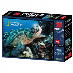 Puzzle 3D National Geographic 500 dielikov