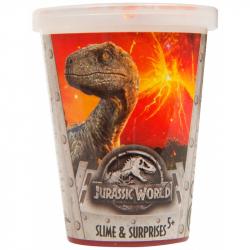 Slime in a cup z niespodzianką Jurassic World