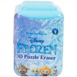 Gumki do mazania puzzle 3D Frozen- Kraina Lodu