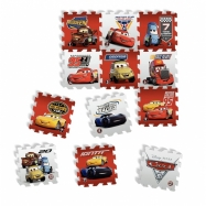 Penové puzzle Disney Cars 12ks