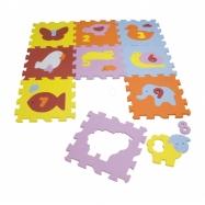Pěnové puzzle zvířátka 9ks