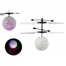 Vrtuľníková gule s meniacim LED svetlom