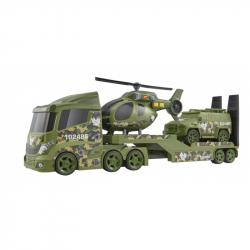 Teamsterz vojenská přeprava helikoptéry se zvukem a světlem