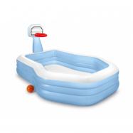 Bazén rodinný 2,57 mx 1,88 m 1,3 m