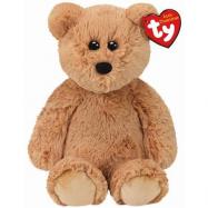 Beanie Boos plyšový medvěd sedící hnědý 33 cm