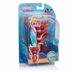 Fingerlings Baby Dráčik Ruby
