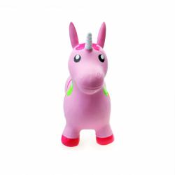 Zvieratko skákací - ružový jednorožec