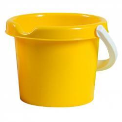 Androni Kyblík s výlevkou - průměr 13 cm, žlutý