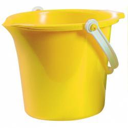 Androni Kýblik s výlevkou - priemer 18 cm, žltý
