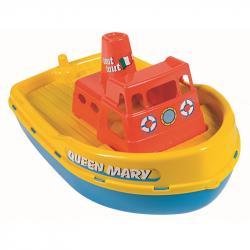 Androni Loď so sirénou - dĺžka 39 cm, žltá paluba