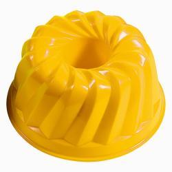 Androni Tvořítko na písek bábovka - průměr 12 cm, žlutá