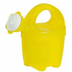 Androni Konvička priehľadná s trblietkami 1,5 l - žltá