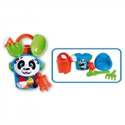Androni Súprava na piesok panda skanvičkou – malá