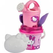 Androni Súprava na piesok Hello Kitty Princess s kanvičkou – malá