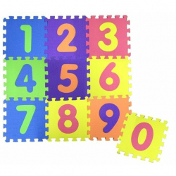 Penové puzzle s číslami