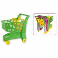 Androni Nákupný vozík so sedadlom - zelený