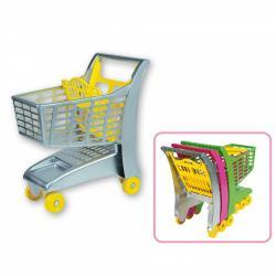 Androni Nákupný vozík so sedadlom - sivý