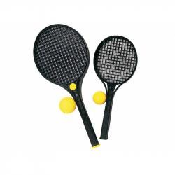Soft tenis čierny 47 cm