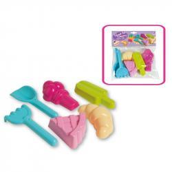 Zabawki do piaskownicy-zestaw Cukierwnka