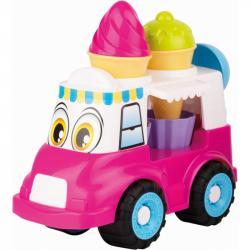 Androni Veselý zmrzlinársku voz - 24 cm, ružový