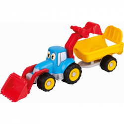Androni Veselý traktor s vlekem - 55 cm
