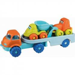 Androni Veselá autíčka na návěsu - nákladní auta, délka 53 cm