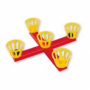 Androni Házení míčků do košíků na kříži