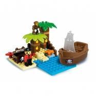 Androni Unico Pirátsky ostrov pokladov 37 dielikov